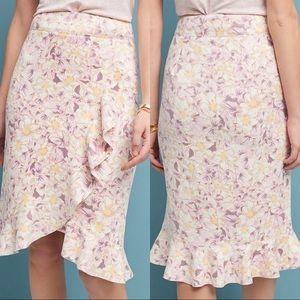 NWT ANTHROPOLOGIE Skye Ruffled Skirt